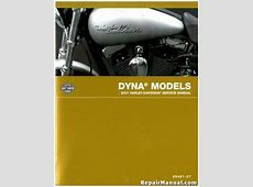2007 Harley Davidson Dyna Motorcycle Service Manual Harley Davidson Wide Glide Specifications