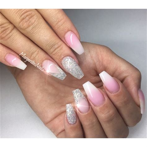 Glitzernde Nägel by White Ombr 233 Nails Nail Gallery