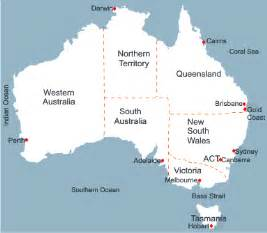 Map Of Australian States by Pics Photos Map Of Australia With States And Capital Cities