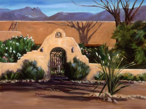 Southwestern Wall Murals hacienda at finger rock wall art southwestern