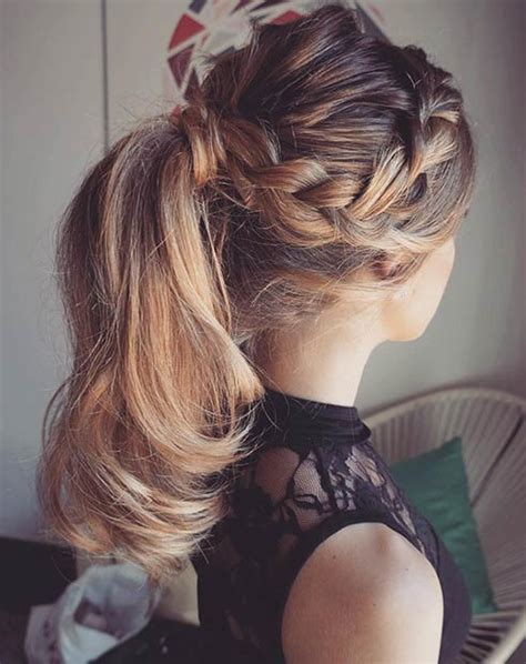 3 Ponytail Hairstyles For by 25 Ponytail Hairstyles For Special Occasions