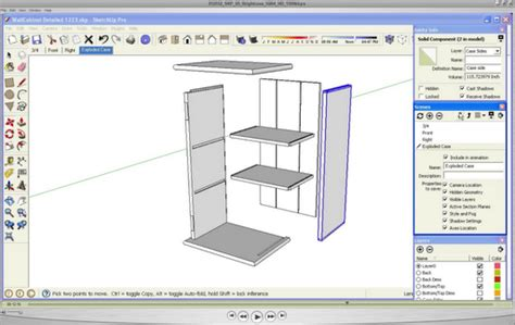 google sketchup tutorial vimeo kdpn woodworking plans in google sketchup