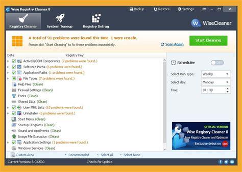best registry repair 6 best registry cleaner and optimizer to fix and repair