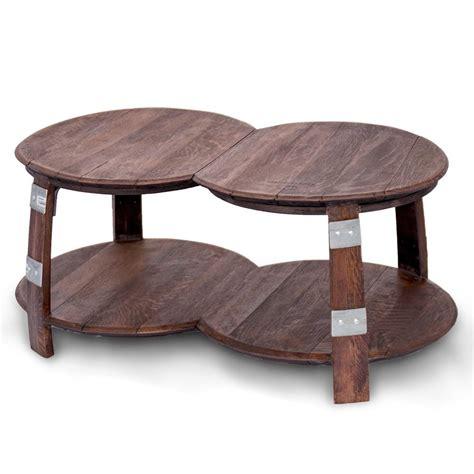 wine barrel table wine barrel coffee table
