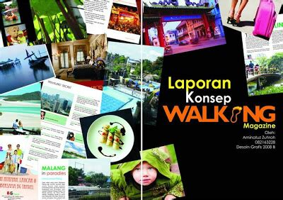 desain grafis magazine desain grafis unesa walking magazine