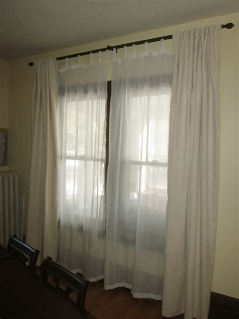 two curtain rods one window dining room drapes d oh i y