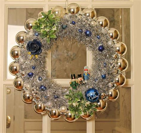 wreath ornament affordable and foolproof ornament wreaths