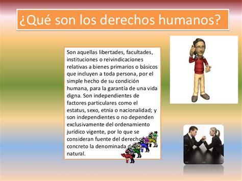 cuales son derechos humanos 201 tica y derechos humanos