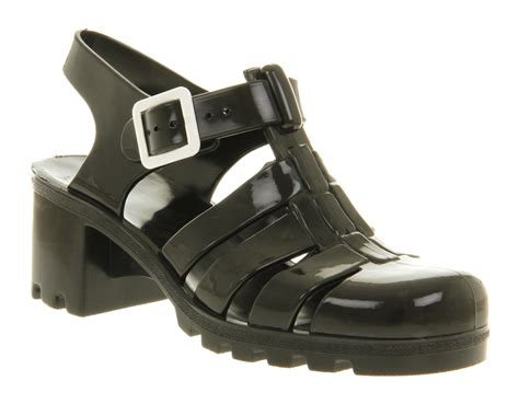 jelly shoes black images
