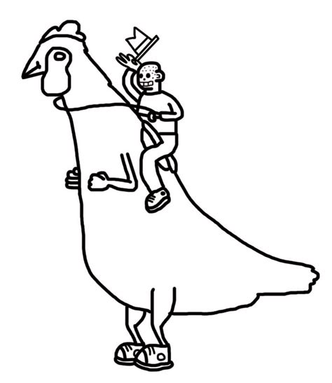 chicken drawing outline at getdrawings com free for personal use chicken outline clipart best