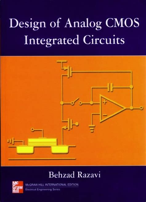 analog integrated circuit design by razavi pdf 模拟cmos集成电路设计 design of analog cmos integrated circuits 中英文版 pdf ed2k地址 其它图书 图书下载 ed2000资源共享