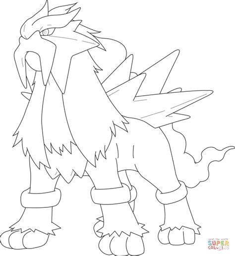view printable version peoplesoft pokemon coloring pages entei how to draw entei pokemon