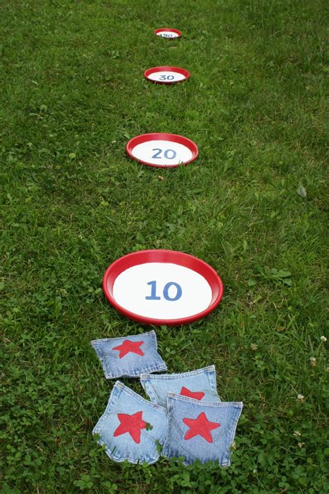 diy bean bag toss bean bag toss 11 fourth of july diy projects