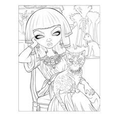 fairy eating coloring page coloring pages pinterest