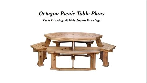 Octagon Patio Table Plans 12 Diy Outdoor Table You Can Build Easily Home And Gardening Ideas