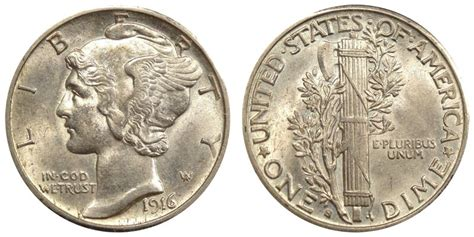 1916 s mercury dimes winged liberty silver dime value and prices