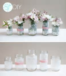 how to make diy lace covered mason jars