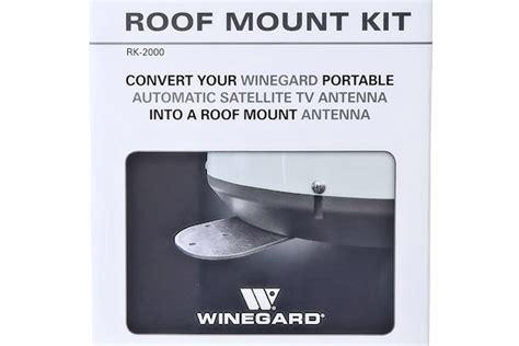 winegard rk  permanent roof mount kit  winegard