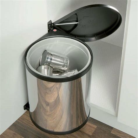 In Cupboard Bins by Built In Kitchen Waste Bin Cupboard Storage Sink