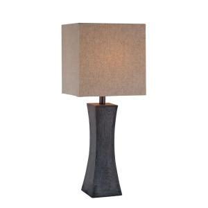 table ls home depot illumine 27 in walnut table l cli ls442851 the