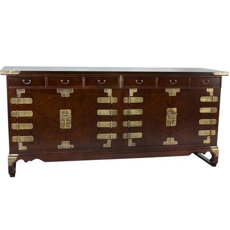 oriental furniture walnut korean antique style double