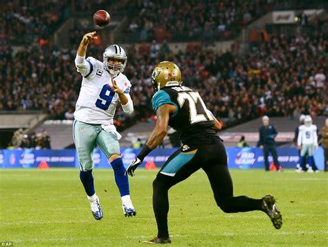Cowboys At Jaguars Jacksonville Jaguars 17 31 Dallas Cowboys Tony Romo Leads
