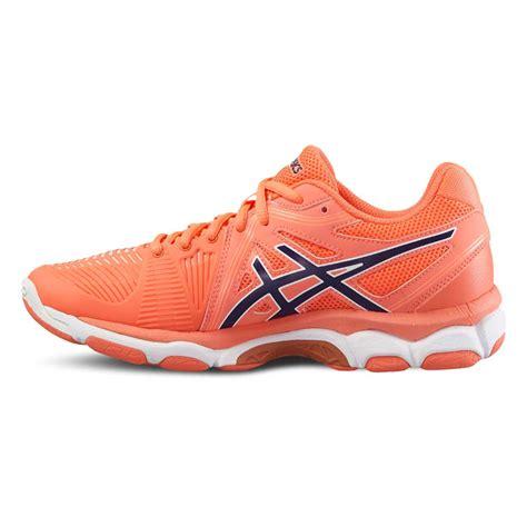 netball shoes asics gel netburner ballistic womens court netball shoes