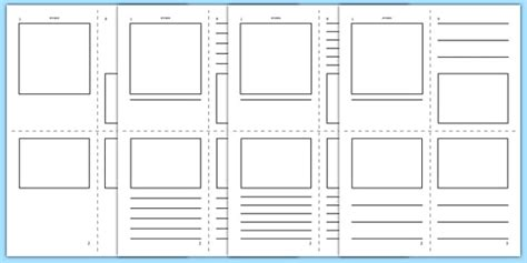information booklet template esl writing templates