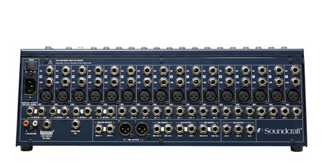 Mixer Sound Cina fx16ii soundcraft professional audio mixers