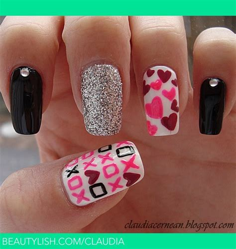 valentines day nails s day nails c s photo