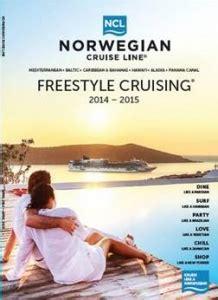 norwegian cruise brochure norwegian cruise line launches 2014 15 freestyle cruising