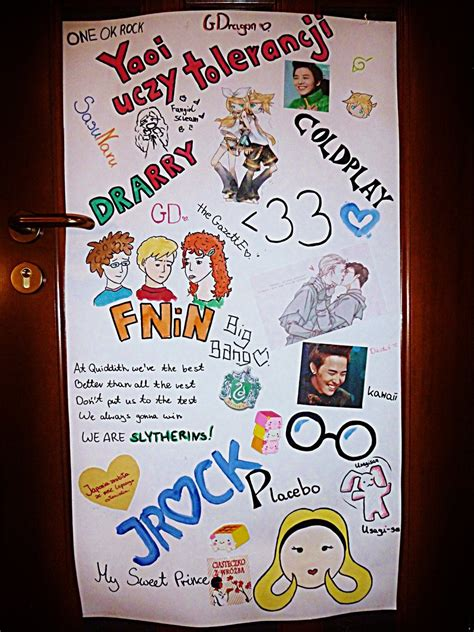 Handmade Posters - handmade poster on my doors by cocochin on deviantart