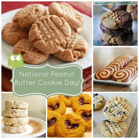 day cookie recipes national peanut butter cookie day june 12