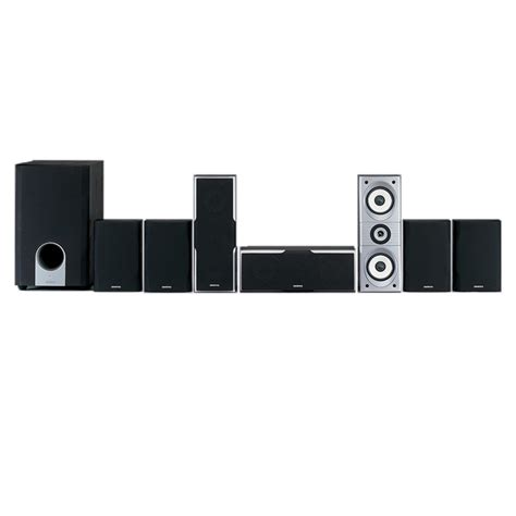 onkyo 7 1 channel home theater speaker system onk sks ht540