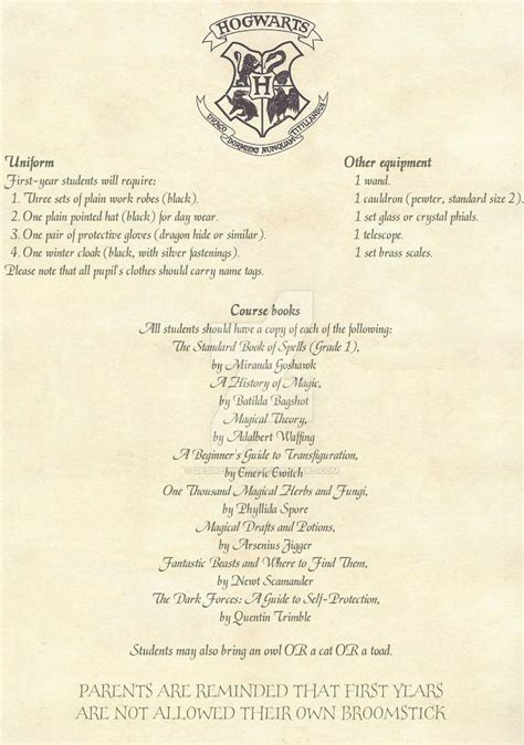 harry potter letter 2 hogwarts acceptance letter 2 2 by desiredwings 1276