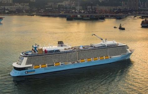 royal caribbeans newest ship royal caribbean s newest ship to sail from asia pacific