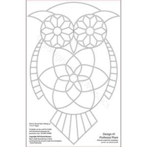 owl mosaic coloring page kasia mosaics classes 187 product categories 187 owl template