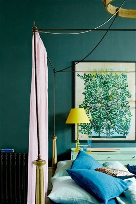 blue pink yellow colour scheme blue bedroom ideas houseandgarden co uk