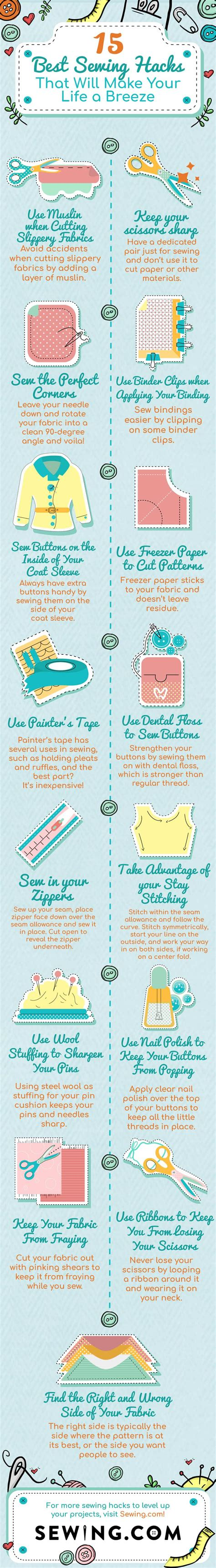 25 life hacks to make midlife a breeze the back forty fliers 35 best sewing hacks that will make your life a breeze