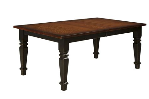 Solid Wood Farmhouse Dining Table Amish Rectangle Dining Table Farmhouse Country Cottage Extending Solid Wood Ebay