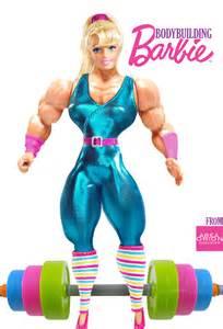 Kids Toy Weight Bench Bodybuilding Barbie By Areaorion On Deviantart