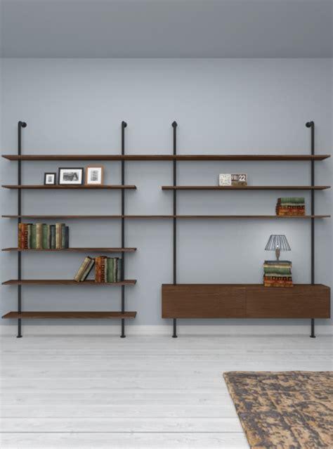 librerie da soggiorno libreria da soggiorno in stile industriale svevo