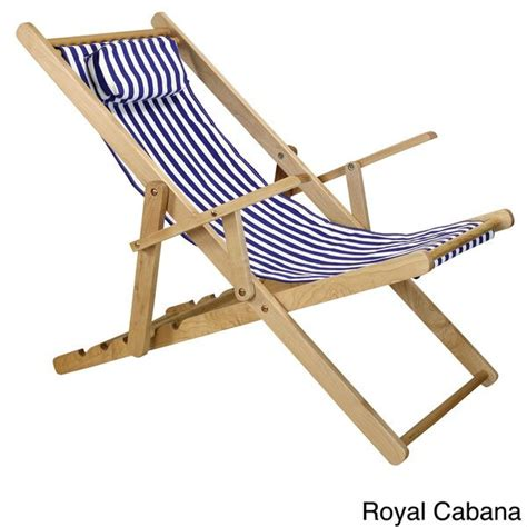 Canvas Deck Chairs - canvas patio sling chair overstock shopping big