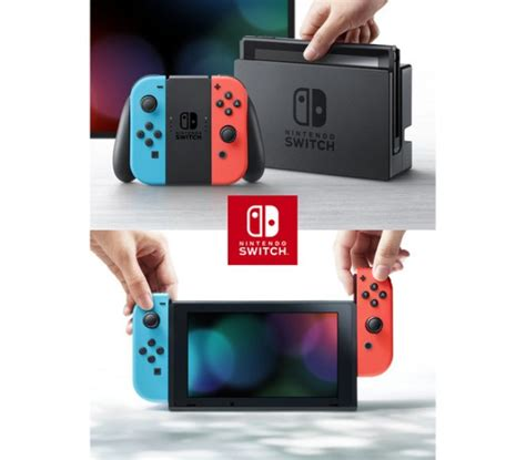 Nintendo Switch Neon nintendo switch with neon blue and neon con droidshop vn