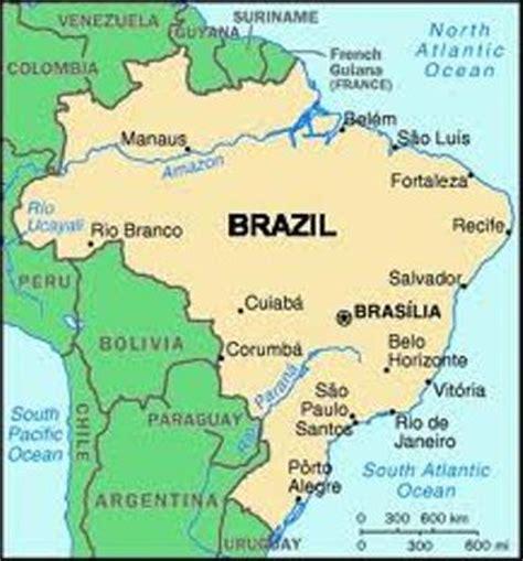 sao paulo on world map sao paulo map my