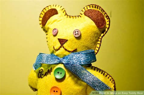 How To Make Paper Teddy - 3 ways to make an easy teddy wikihow