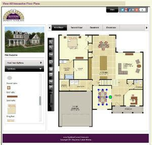 interactive floorplans keystone custom homes announces new interactive floor