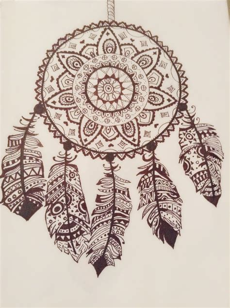 dream catcher doodle dream catchers doodle drawing peacock feather stock