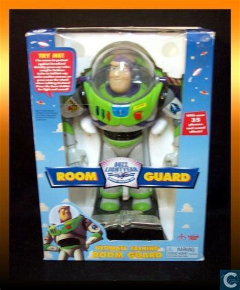 room guard story 12 quot buzz lightyear electronic room guard thinkway toys catawiki