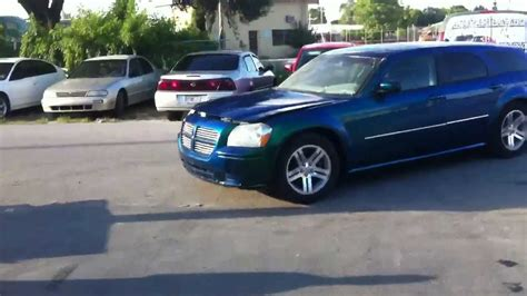 green dodge magnum outrageous emerald green dodge magnum pt 1
